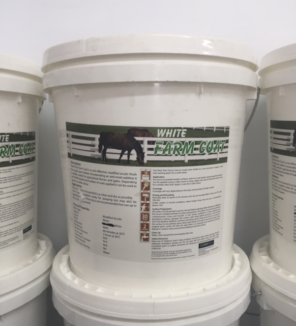 20 Litres FARM BLACK Anti-Mould Exterior Paint